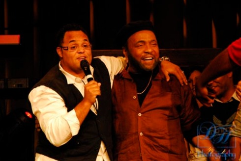 Israel Houghton & the Legendery Andrae Crouch.